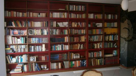 arch. frisoni - libreria e mobili ingresso (1)