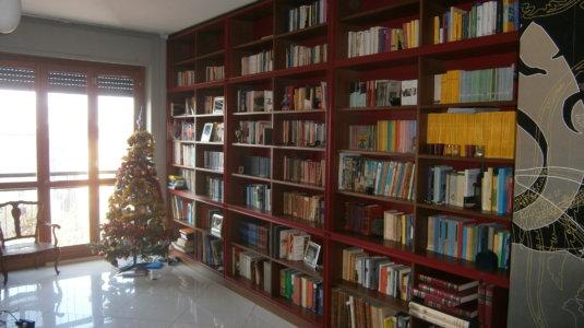 arch. frisoni - libreria e mobili ingresso (2)